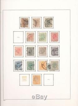 Roumanie Début / 1970s Davo Album Collection Utilisée (appx 1300+) Alb301