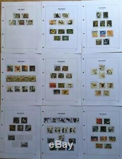 Royal Mail Stamp Album Sans Charnière Dans L'affaire Slip Avec 1991-1999 Collection