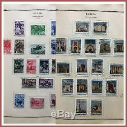 Russie. Collection De Timbres Usagés Monté Dans L'album. 1939-1958. (bi # Bdr / 180909)