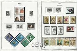 Russie Collection En Minkus Spécialité Stamp Album 1857-1991, 550 Pages