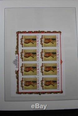 Russie Premium Mnh 1992-2016 Collection De Timbres, 11 Albums Lindner 2 Box