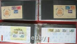 S2211 Singapour Plus De 600 Fdc 1949 Collection 2012 Dans 14 Albums