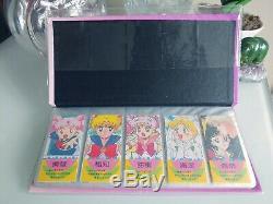 Sailor Moon Jolie Soldat Album 158 Timbres Japon Écriture Rare Doit Avoir Acheter Ce