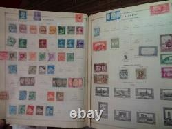 Scott International A-z 1840-1935 Avec Plus De 9500 Timbres Clean Early Album Collection