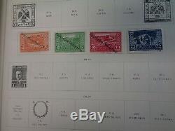 Scott International Jr Collection D'albums Bleus 1 500 Diff. Timbres Copyright 1933
