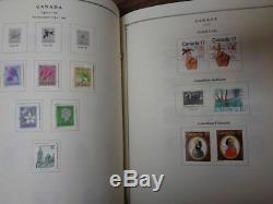 Scott International Partie 15 XV 1979 Timbre Pages Collection De L'album Liant