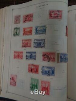 Scott Jr. International Ww Album Collection 3000 Stamps1840-1940