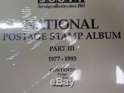 Scott Pages De Collection Us National Album Stamp Supplément 1977-1993 Pt 3 100ntl3