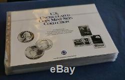 Société Postale Ongecirculeerd Mint Sets Collection Album W Timbres Bateau Libre Etats-unis