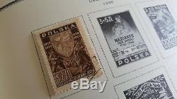 Spécialité Pologne Scott Stamp Collection Album Rare Dans Cet État