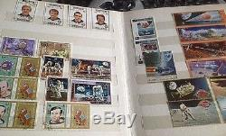 Stamp Collection Album De Timbres Espace Lune Apollo Spacecraft En Vrac X 268 Espace