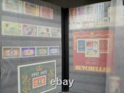 Stamp Collection Environ 1000 Timbres En 31 Albums Id8361