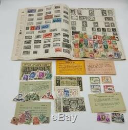 Stamp Vintage Album Annulée Certains New Tsars Seconde Guerre Mondiale Allemagne Asie