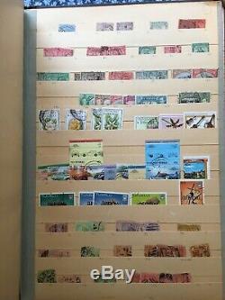 Stamp Vintage Album, Grande Collection De Monde Stamp, Timbres Liquidation Maison