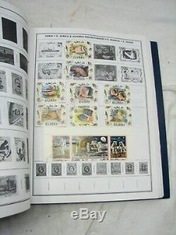 Statesman Complète Dans Le Monde Entier Stamp Collecting Kit Album Harris Withbox