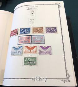 Suisse Great Collection In Scott Album Spécialisé 14 695 $ Cat. Od C3