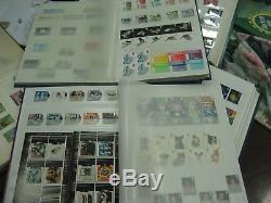 Superbe Collection Commémorative 1953 2012 De Fv Mnh 912 € Timbres Albums