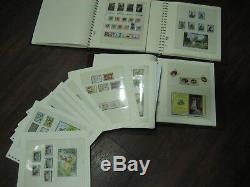 Superbe Collection De Maillots En 3 Albums Lindner 1969 -2008 Décimale À Partir De £ 750.00