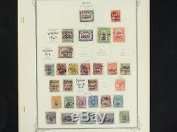 Superbe Collection De Timbres Du Pérou Sur Scott Album Pages 1858-1958 Near Full Look