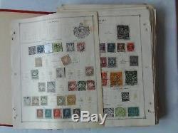 Tampon Album Beaucoup De Vintage Pre 1900, Kiloware, Vieux Timbres, Collection, Beaucoup De