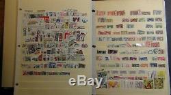 Tchécoslovaquie Timbre Collection Sur Les Pages De L'album Minkus Avec 2.100 Ou Si To'91