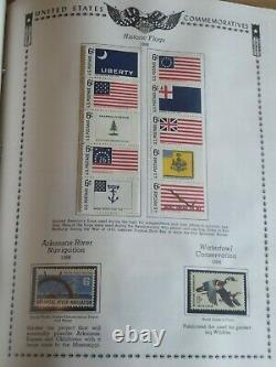 The All American Stamp Collection Commémorative Album 1893 -1988 1259 Timbres