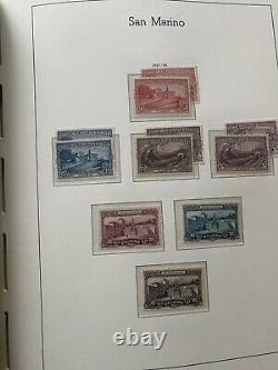 Timbre Collection Saint-marin Phare Album1877 1961