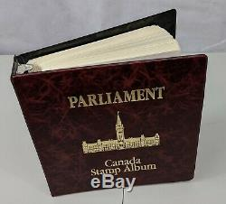 Timbre Pickers Canada 1859-1989 Parlement Album Collection Mh Domaine Vfu 1675 $ +