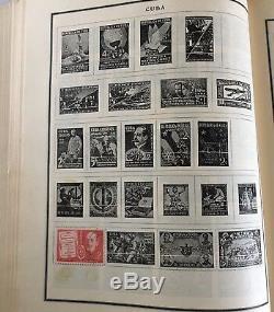 Timbre Vintage 1944 Timbres Album Scott International Dans Le Monde Collection 160+