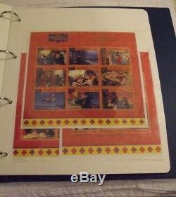 Timbres Album Disney Timbres Du Monde Plus De 289 Timbres, Fdc, Et Feuilles Etc