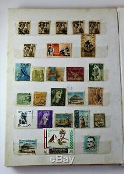Timbres Anciens Album Collection Timbres Estampillés Pages Intéressantes Very Nice