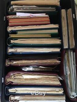 Timbres Timbres Collection Énormes Dans Le Monde Dans 17 Albums