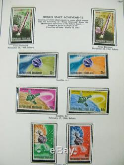 Togo Stamp Collection Mint Nh Dans L'album