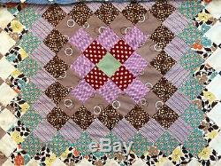 Top Vintage Quilt, Album De Timbres-poste