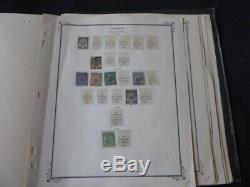 Tunisie 1888-1957 Collection De Timbre Sur Scott Specialty Album Pages