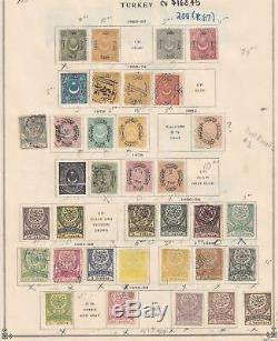 Turquie Puissante Classic Collection Sur L'album Pages Y991