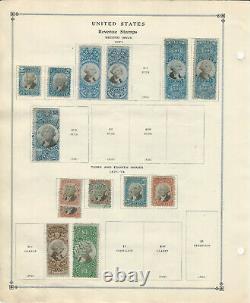U. S, 1862-1874, Collection De 110 Timbres Sur L'album Scott Pages