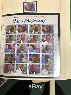 U. S. Stamp Collection Scotts Album National-1997 1980 Mnh Cat Valeur 900 $ +