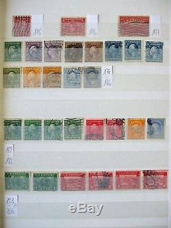 USA Sammlung Collection D'albums Us 2700 Timbres
