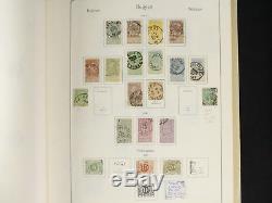Une Vaste Collection De Timbres Belges Dans L'album Kabe 1849-1971