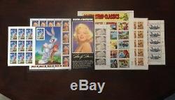 Us 32 Cent Stamp 14 Feuille Collection De Po À La Feuille Album Mint Never Hinged