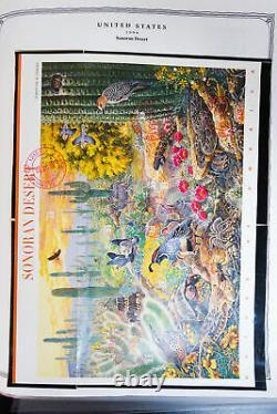 Us Moderne Stamp Collection 1980-2003 D'occasion À Scott Album
