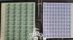 Us Stamp Collection En Supersafe Deluxe Album Vol. 1