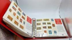 Ussr 1967-1991 Album De Timbres Commémoratifs De L'union Soviétique Russie Collection Complète