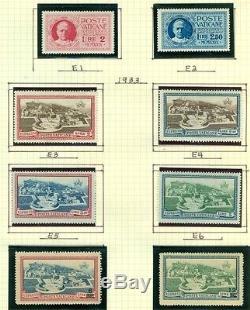 Vatican City Collection 1929 1983 Dans Scott Album Spécialisé Scott 453,00 $