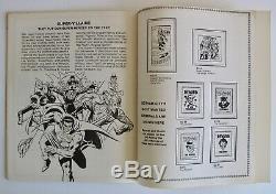 Vintage 1976 Officiel DC Super Héros Batman Superman Stamp Album Comics Inutilisé