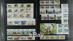 Weeda Collection Jersey Dans L'album Kabe, Presque Complet, Mnh 1958-2002 CV 1594 $ +