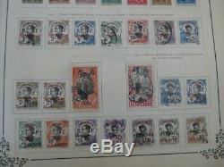 Worldwide Collection De Timbres De Valeur Avec Des Milliers Dans L'album Yvert Des Années 1920! 535 Photos