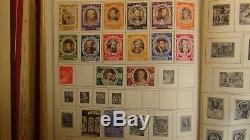 Ww A Ven. Collection De Timbres Dans L'album Minkus Jusqu'à 60 Environ Avec 7.500 Timbres