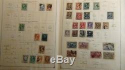 Ww Collection De Timbres À Scott Int'l 1930 Avec L'album Est. 3.300 Timbres